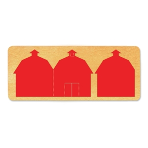 Ellison SureCut Die - Book, Barn Cover & Page - Double Cut
