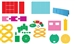 """NEW"" Ellison SureCut Die Set - Common Core Manipulatives (12 Die Set)"