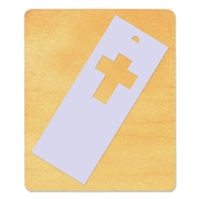 Ellison SureCut Die - Bookmark, Cross #3 - Large