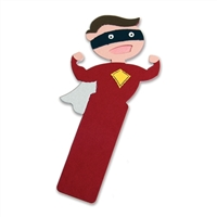 Ellison SureCut Die - Bookmark, Superhero - Large