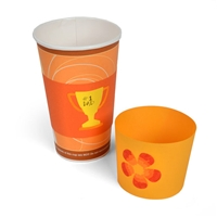 Ellison SureCut Cup Wrapper, Flower, Heart, Trophy