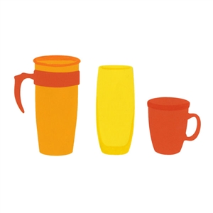 Ellison SureCut Die Travel Cup, Mug & Glass