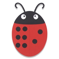 Ellison SureCut Die - Dominoes, Ladybug- Large