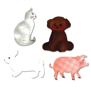Ellison AllStar Die - Cat, Dog, Pig & Rabbit