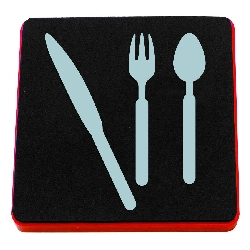 Ellison AllStar Die - Knife, Fork & Spoon