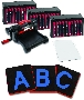 "Ellison AllStar SuperStar Starter Set w/Block Alphabet 3 1/2"" Uppercase Letters"