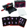 "Ellison AllStar SuperStar Starter Set w/Block Alphabet 1 1/2"" Lowercase Letters & Punctuation ELA10783"