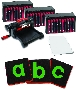 "Ellison AllStar SuperStar Starter Set w/Block Alphabet 3 1/2"" Lowercase Letters ELA10784"