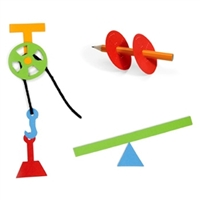 Ellison AllStar Die - Lever, Pulley, Wheel & Axle - Simple Machines