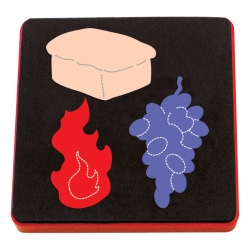 ***Special Order*** Ellison AllStar Die - Sacraments: Bread, Fire & Grapes - 10916