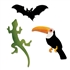 Sizzix Bigz Die Cut - Bat, Lizard & Toucan