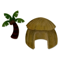 Sizzix Bigz Die - Hut & Palm Tree