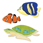 Sizzix Bigz Die - Angelfish, Clownfish & Sea Turtle A11001