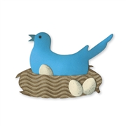 Sizzix Bigz Die - Bird, Nest & Eggs