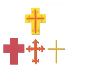 Sizzix Bigz Die - Crosses, Layered