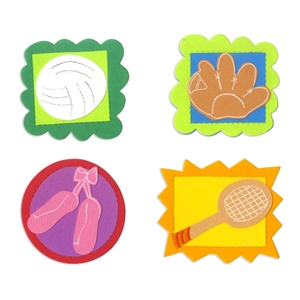 Badge, Icons #5 by Laura Kelly