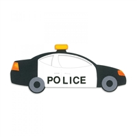 Police Car, Emergency Vehicle, Paddy Wagon,