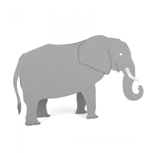 3D Elephant, Zoo Animals