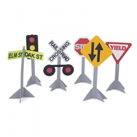 RailRoad, Signal, Stop, Warning, Yield Signs