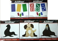 Ellison AllStar Die  Assorted  Set