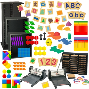 Ellison Prestige Pro Complete Block Starter with Math Set