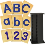 Block Letters and Numbers Set