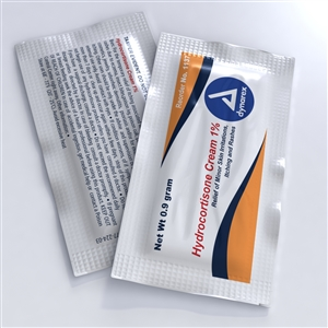 Hydrocortisone Cream 0.9 g - Foil Packets