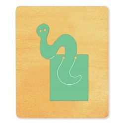 Ellison SureCut Die - Bookmark, Bookworm - Large