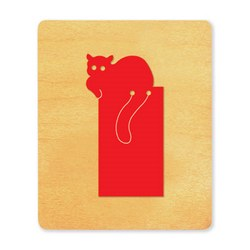 Ellison SureCut Die - Bookmark, Cat - Large