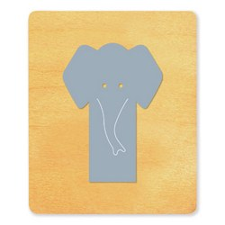 Ellison SureCut Die - Bookmark, Elephant - Large