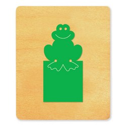 Ellison SureCut Die - Bookmark, Frog - Large