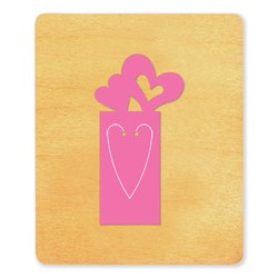 Ellison SureCut Die - Bookmark, Heart - Large