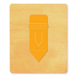 Ellison SureCut Die - Bookmark, Pencil - Large