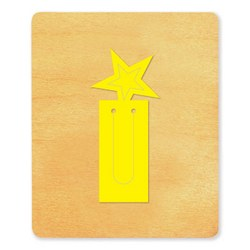 Ellison SureCut Die - Bookmark, Star - Large