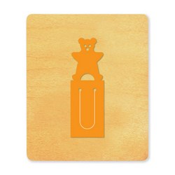 Ellison SureCut Die - Bookmark, Teddy Bear - Large