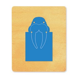 Ellison SureCut Die - Bookmark, Walrus - Large