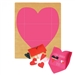 Ellison SureCut Die - Folded Heart Envelope - Extra Large