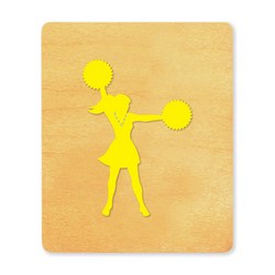 Ellison SureCut Die - Cheerleader - Large