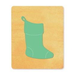 Ellison SureCut Die - Christmas Stocking - Extra Large