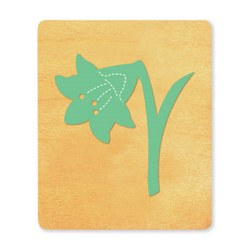 Ellison SureCut Die - Flower, Easter Lily - Large