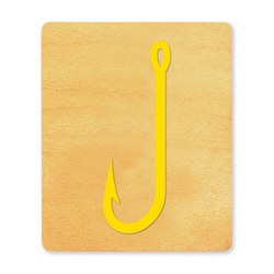 Ellison SureCut Die - Fish Hook - Large