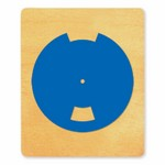 Ellison SureCut Die - Flashcard Top Wheel - Large