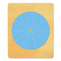 Ellison SureCut Die - Flashcard Bottom Wheel - Extra Large