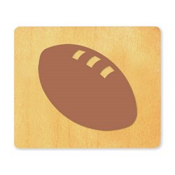 Ellison SureCut Die - Football - Extra Large