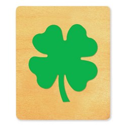 Ellison SureCut Die - Four Leaf Clover - Large