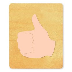 Ellison SureCut Die - Hand Sign, Thumbs Up - Large