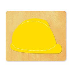 Ellison SureCut Die - Hard Hat - Large