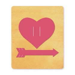 Ellison SureCut Die - Heart & Arrow - Small