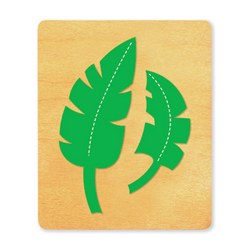 Ellison SureCut Die - Leaves, Jungle - Extra Large