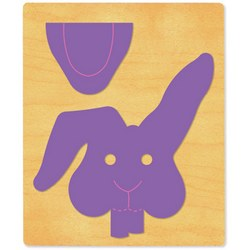 Ellison SureCut Die - Paper Bag Puppet, Rabbit - Extra Large